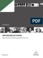 Beh Fx2000 Manual