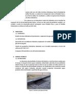 2do Informe - Alcantarillas Pluviales