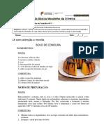Ficha Bolo de Cenoura 5