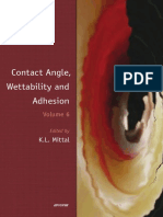 Mittal, K.L. - Contact Angle, Wettability and Adhesion Volume 6-VSP (2009)