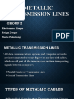 Metallic transmission