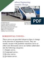 139091422 Geometric Design of Railways Converted