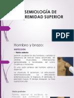 Semiología de Extremidad Superior