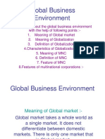 Globle Business Environment