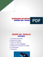b. Diseño Trabajo