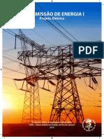 Transmissão de Energia I (Projeto Eletrico)