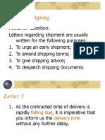 Unit 10 Shipping