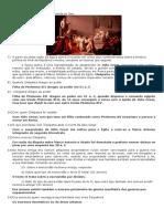 Prova de Historia AP1 Roma Exercicios Prova2