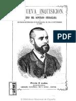 Proceso Del Diputado Serraclara (Barcelona 1870)