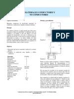 5-Materiales Conductores y No Conductores