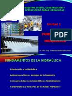 Unidad 1 - Fundamentos de La Hidráulica