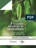 3° Encontro Brasileiro de Silvicultura