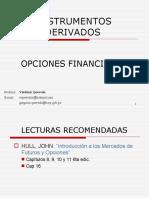Instrumentos Derivados Opciones Financieras I