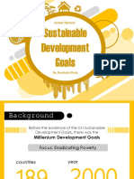 United Nations Sustainable Development Goals Presentation