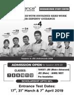 (2451) Bhubaneswar Jee Main Practice Paper Class Xii