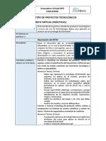 EDT Diseño y Gestión de Proyectos Tecnológicos