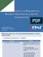 Resumen reforma tributaria ppt