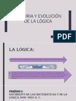 Historia y Evolución de La Lógica