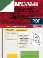 Clase II. Funciones Del Lenguaje - Significados