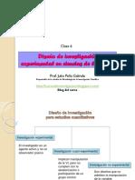 Clase 6 Diseños de Investigacion Para Estudios Cuantitativos