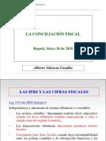 Conciliación Fiscal 2018