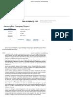 Amazon Inc. Company Report - Research-Methodology