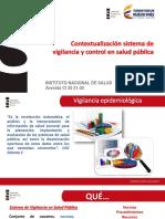 Vigilancia y control en salud pública