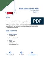 Brian Stiven Verano Peña