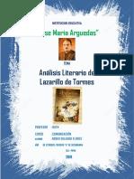 Lazarillo de Tormes 3