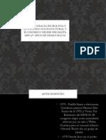 La Democracia en Bolivia y El Proceso Sociocultural