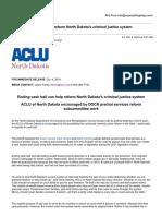 ACLU Release