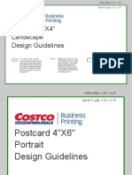 Costco Postcard Template