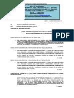 Presupuesto de Inspeccion y Trabajo Terminado de Las Instalaciones Sumergidas de La Chata Absorvente Alicia 10 Agosto 2019