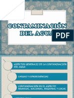 contaminacion de agua , sector local.pptx