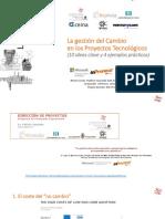 GESTIÓN DEL CAMBIO