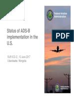 2017 FAA Presentation on ADS-B Status