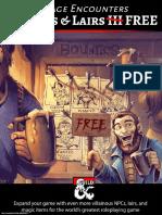 Villains & Lairs III FREE