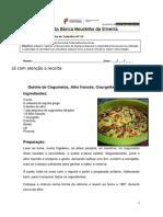 Ficha Quiche de Cogumelos 10