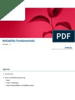 7-Reliability Fundamentals - Session-1-17-Jul-2019Material II 17-Jul-2019 RELIABILITY FUNDAMENTALS Session 1