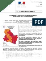 Les restrictions d'eau maintenues dans l'Yonne, au 4 octobre 2019