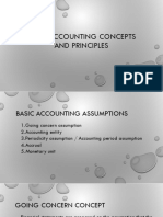 Module 4 - Basic Accounting Concepts and Principles