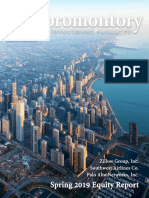 Promontory Investment Research Spring 2019