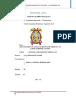 Informe de Mecanica de Fluidos 1