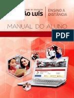 MANUAL DO ALUNO. Institucional Faculdade de Educacao Sao Luis.