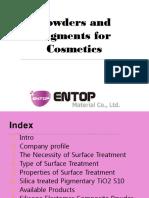 cosmtics pigments