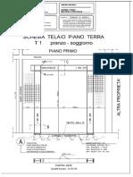 Disegni Esecutivi Telai Cerchiatura T1-T2