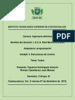 1ra. actividad U. 4. Estructuras de control..docx
