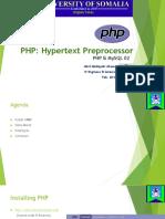 PHP Beginner 2018 02