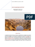 Lexico de Geologia