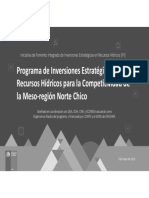 Programa de Inversiones Estratégicas Norte Árido
